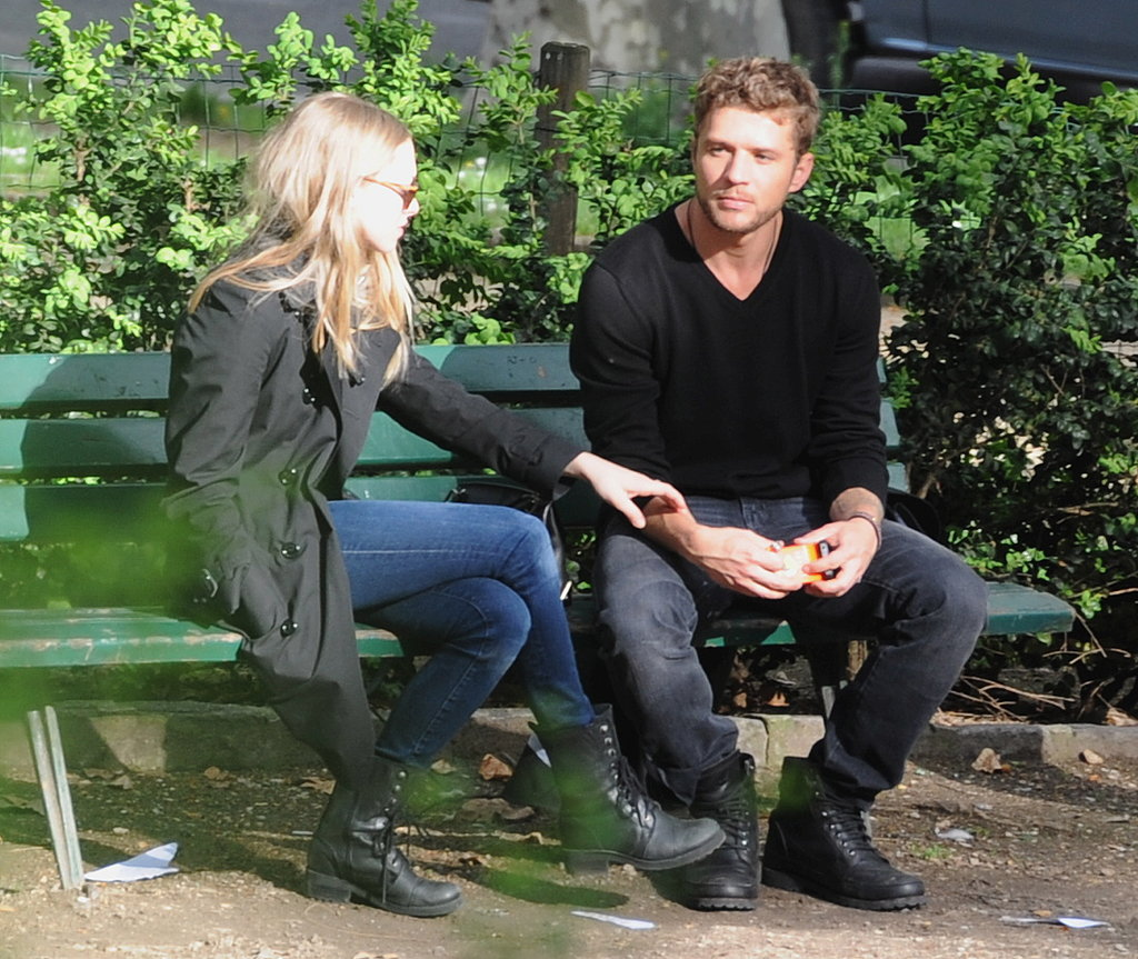 Ryan Phillippe and Amanda Seyfried Get Romantic in the City of Lights