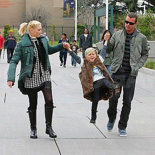 Pictures of Gwen Stefani and Gavin Rossdale in LA With Kingston and Zuma