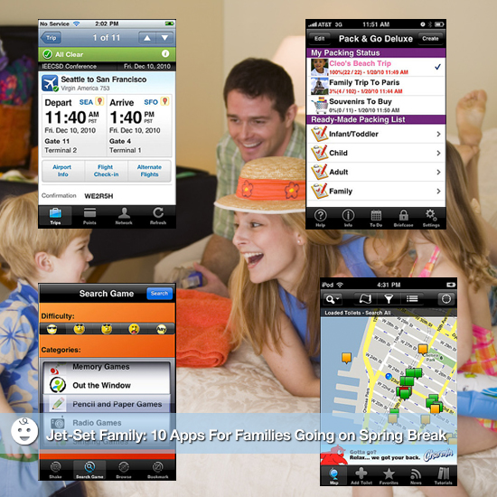 Jet-Set Family: 10 Apps For Families Traveling For the Holidays