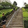 Outdoor Stair Workout