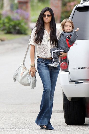 Camila Alves Carries Levi While MM Stays Busy Overseas