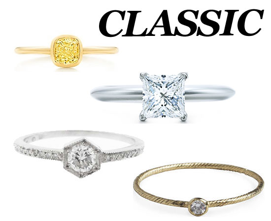 10 Engagement Rings For the Eternally Classic Type
