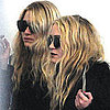 Pictures of Mary-Kate Olsen and Ashley Olsen Leaving LAX