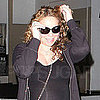 Pictures of Pregnant Mariah Carey Showing Her Bump in LA