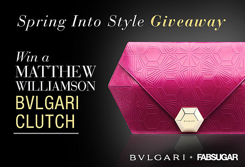 FabSugar Matthew Williamson For Bulgari Clutch Giveaway