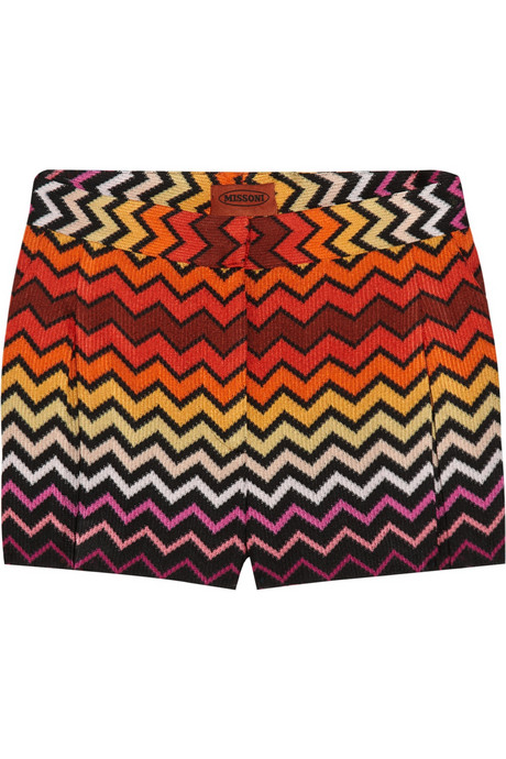 Missoni Crochet-Knit Shorts ($835)