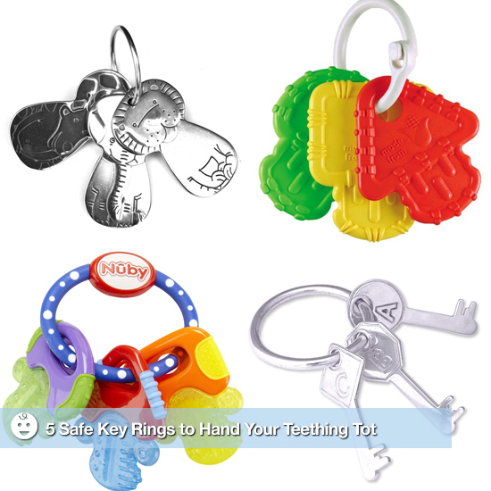 5 Safe Key Rings to Hand Your Teething Tot