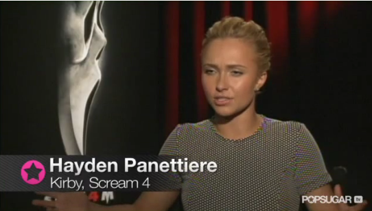 Video: Hayden Panettiere on Neve Campbell's Scream Advice, and Surprises on the Set