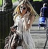Pictures of Sienna Miller Walking Through Primrose Hill in London