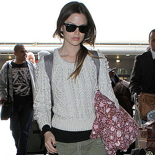 Pictures of Rachel Bilson Landing at LAX