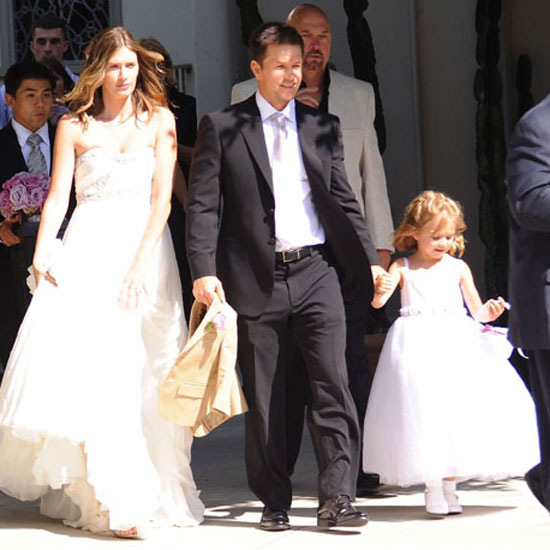 Mark Wahlberg married his longtime love, Rhea Durham, in an LA ceremony in August 2009.