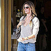 Pictures of Gisele Bundchen in Paris