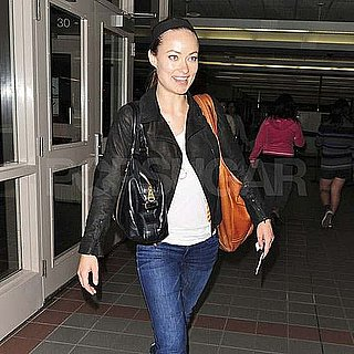 Pictures of Olivia Wilde at Airport