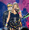Fergie&#039;s Lego Dress at 2011 Kids&#039; Choice Awards