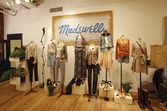 We went to the Madewell Fall presentation!