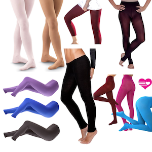 Tights to Wear to the Gym or Dance Class