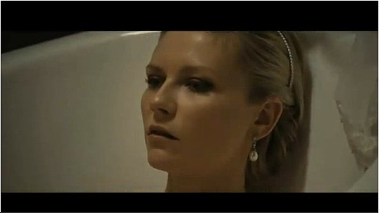 Melancholia Trailer With Kirsten Dunst and Alexander Skarsgard