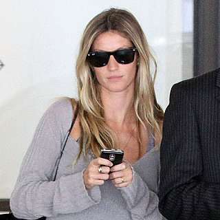 Pictures of Gisele Bundchen and Diane Kruger at LAX
