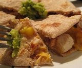 Grilled Pineapple and Chicken Quesadillas