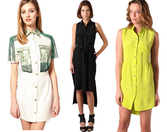 Shop the Best Shirtdresses For Spring!