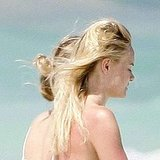Topless Kate Bosworth Hits the Beach in Half of Her Bikini