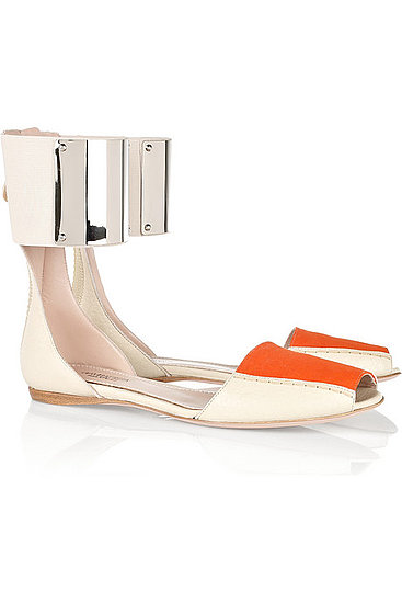 Giambattista Valli Metal-Cuffed Sandals ($900)