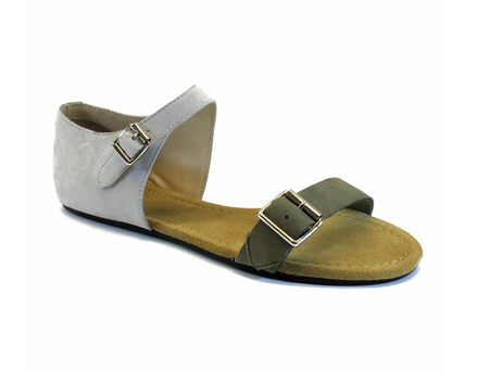 3.1 Phillip Lim Sidibe Leather Flat Sandal ($375)