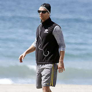 Pictures of Matthew McConaughey Working Out in Malibu