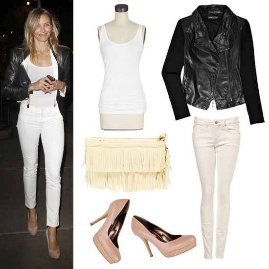 Black Leather, White Basics