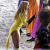 Pictures of Beyoncé Filming Music Video