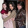 Suri Cruise at Dinner in NYC With Tom Cruise and Katie Holmes