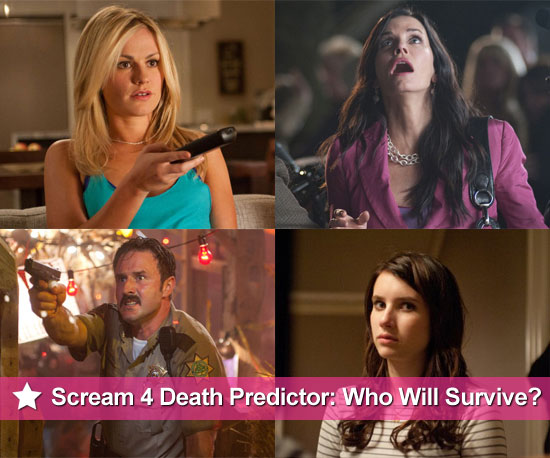 Scream 4 Death Predictor: Who Do You Think Will Survive?