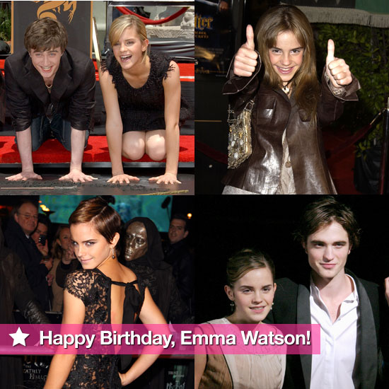 Happy 21st Birthday, Emma Watson — See Her Star Rise Through the Years!