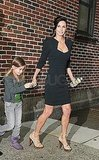 Courteney Cox Talks Nip-Slips and Avoiding Arquette Advances on Letterman