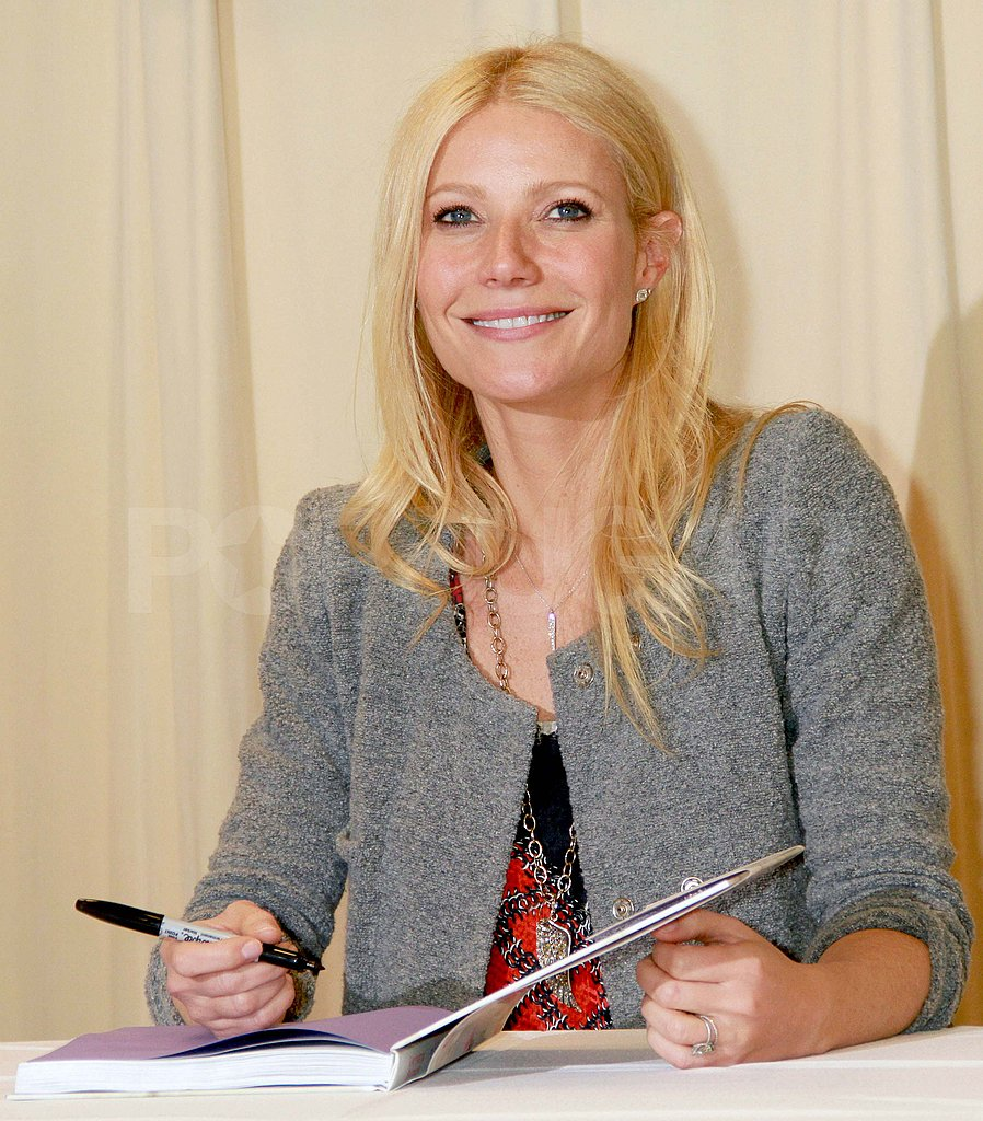 Gwyneth Paltrow Slips On Sexy Leather Pants to Continue Her Press Tour