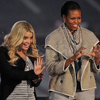Jessica Simpson Performs For Michelle Obama Pictures