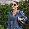 Pictures of Jessica Alba Leaving Margarita Mix Studios