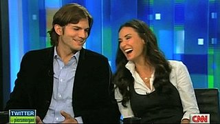 Video: Ashton Kutcher and Demi Moore Interview on Piers Morgan Tonight