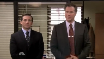 Will Ferrell Takes Over The Office As Deangelo Vickers