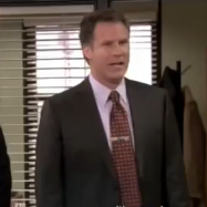 Will Ferrell on The Office as Deangelo Vickers