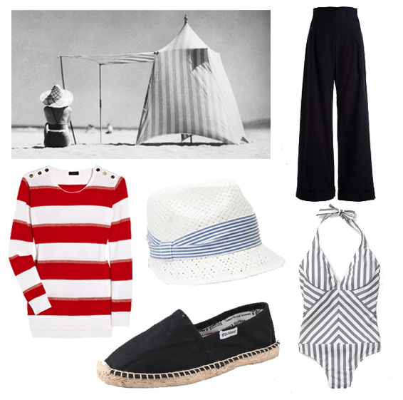 Classic, Sporty Summer Style