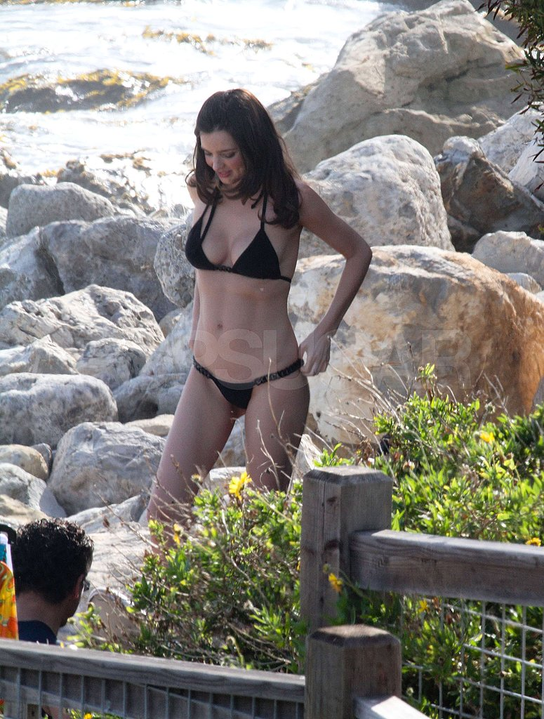 Miranda Kerr Wears a Bikini Three Months After Welcoming Flynn