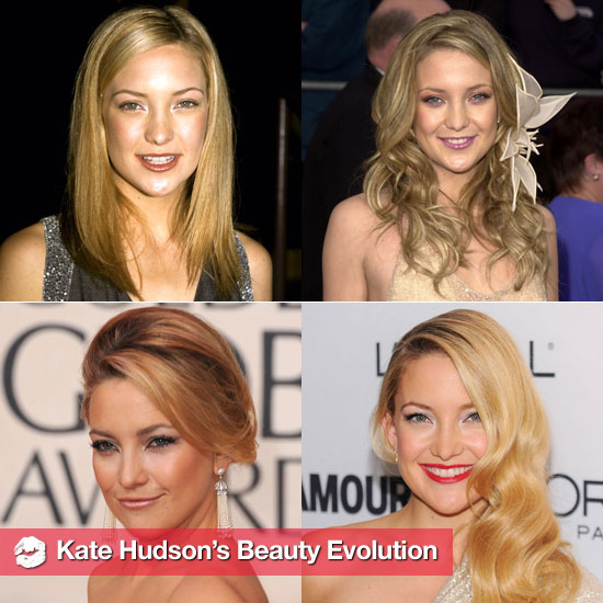 See Kate Hudson's Beauty Evolution