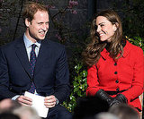 Prince William and Kate Middleton smiled big in Scotland in February, 2011.