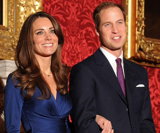 Kate Middleton and Prince William posed for an official photo, with Kate showing off that ring, after announcing their engagement in November 2010.