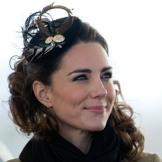 Hairstyles For Long Hair With Hats : Kate Middleton Fascinators and Hair Accessories POPSUGAR Beauty