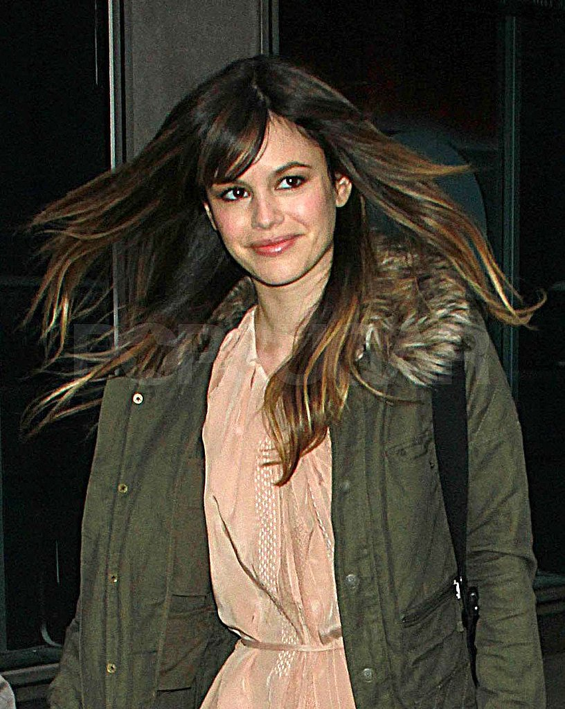 Rachel Bilson Stops by Fox and Friends as She Readies For a Red Carpet Debut