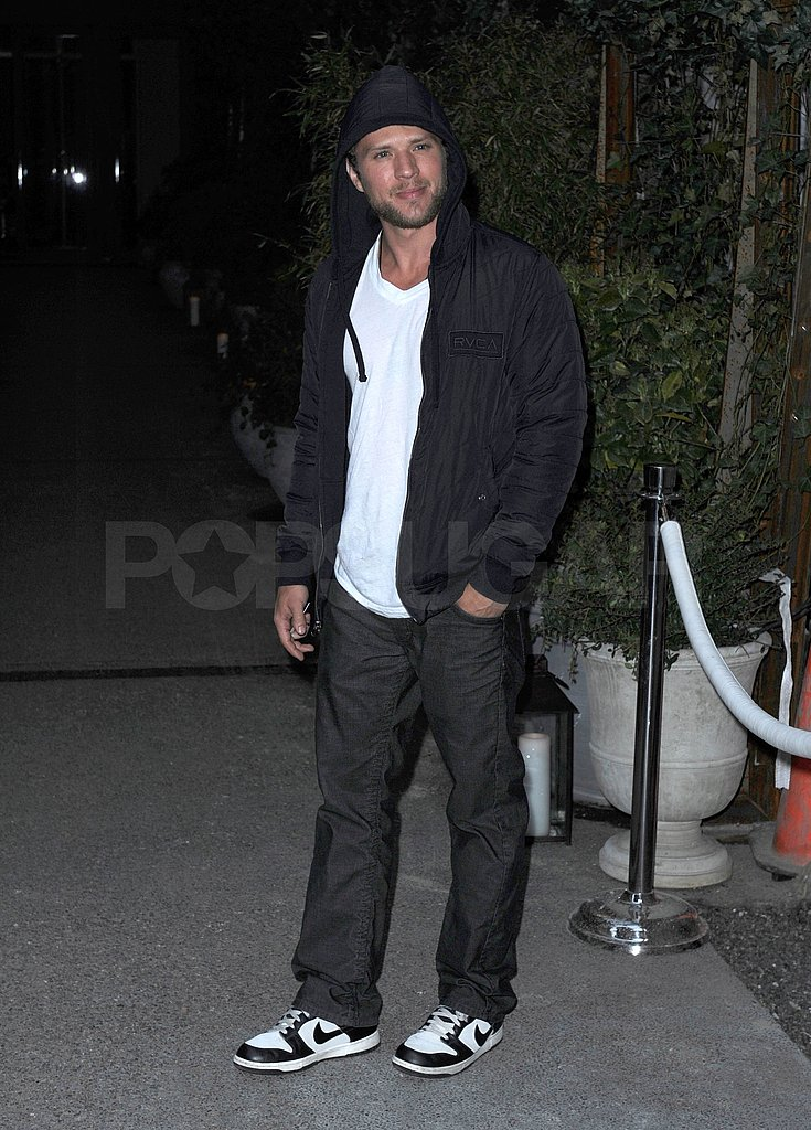 Ryan Phillippe Checks Out NYC's Night Life Prior to His Bang Bang Club Premiere