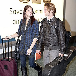 Ashley Greene Pictures in Vancouver For Breaking Dawn With Jackson Rathbone