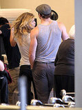 Kellan Lutz Brings AnnaLynne McCord Along to Vancouver!